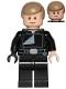 Minifig No: sw0880  Name: Luke Skywalker (Jedi Master, Endor, Dark Tan Hair, Stern / Smile)
