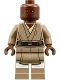 Minifig No: sw0889  Name: Mace Windu (Dark Tan Legs)