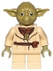 Minifig No: sw0906  Name: Yoda (Olive Green, Belt Pattern)