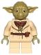 Lot ID: 197643806  Minifig No: sw0906  Name: Yoda (Olive Green, Belt Pattern)