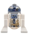 Minifig No: sw0908  Name: Astromech Droid, R2-D2, Dirt Stains