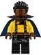 Minifig No: sw0923  Name: Lando Calrissian, Young (Short Cape with Collar)