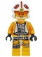 Minifig No: sw0952  Name: Luke Skywalker (Pilot, Dual Molded Helmet)