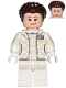 Minifig No: sw0958  Name: Princess Leia (Hoth Outfit White, Crooked Smile)