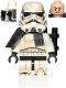 Minifig No: sw0960  Name: Sandtrooper (Enlisted) - Black Pauldron, Ammo Pouch, Dirt Stains, Survival Backpack