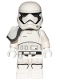 Minifig No: sw0962  Name: First Order Stormtrooper Squad Leader (Pointed Mouth Pattern)