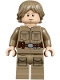 Minifig No: sw0971  Name: Luke Skywalker (Cloud City, Dark Tan Shirt)