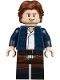 Minifig No: sw0976  Name: Han Solo - Dual Molded Legs