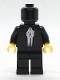 Minifig No: sw0985  Name: Black VIP