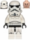 Minifig No: sw0997a  Name: Stormtrooper (Dual Molded Helmet, Black Squares on Back, Grimacing)