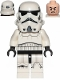 Minifig No: sw0997b  Name: Stormtrooper (Dual Molded Helmet, Gray Squares on Back, Grimacing)
