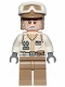 Minifig No: sw1014  Name: Hoth Rebel Trooper White Uniform, Dark Tan Legs (White Beard)