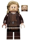 Minifig No: sw1039  Name: Luke Skywalker, Old (Dark Brown Robe)