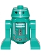 Minifig No: sw1052  Name: Astromech Droid (Dark Turquoise)