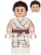 Minifig No: sw1054  Name: Rey - White Tied Robe