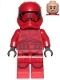 Minifig No: sw1065  Name: Sith Trooper - Episode 9