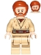 Minifig No: sw1082  Name: Obi-Wan Kenobi (Dirt Stains)