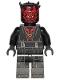 Minifig No: sw1091  Name: Darth Maul - Printed Mechanical Legs (Crimson Dawn Crime Lord)