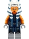 Minifig No: sw1096  Name: Ahsoka Tano (Adult) - Dark Blue Jumpsuit