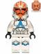 Minifig No: sw1097  Name: 332nd Company Clone Trooper