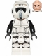 Minifig No: sw1116  Name: Scout Trooper (Dual Molded Helmet, Printed Legs, Frown)