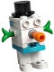 Minifig No: sw1120  Name: Snowman Gonk Droid (GNK Power Droid)