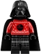 Minifig No: sw1121  Name: Darth Vader (Red Christmas Sweater with Death Star)