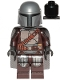 Minifig No: sw1135  Name: The Mandalorian (Din Djarin / 'Mando') - Silver Beskar Armor