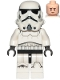 Minifig No: sw1137  Name: Stormtrooper (Dual Molded Helmet, Gray Squares on Back, Frown)