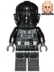 Minifig No: sw1138  Name: TIE Fighter Pilot (Frown)