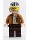 Minifig No: sw1145  Name: Poe Dameron (Medium Nougat Jacket, Helmet)