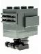 Minifig No: sw1153  Name: Gonk Droid (GNK Power Droid) Dark Bluish Gray, Black Feet