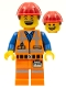 Minifig No: tlm003  Name: Hard Hat Emmet - Minifigure only Entry