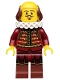 Minifig No: tlm008  Name: William Shakespeare - Minifigure only Entry