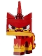 Minifig No: tlm073  Name: Unikitty - Angry Kitty