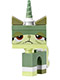 Minifig No: tlm076  Name: Unikitty - Queasy Kitty