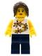 Minifig No: tls045  Name: Lego Brand Store Female, Yellow Flowers - Nashville