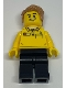 Minifig No: tls099  Name: Lego Brand Store Employee, Hair Swept Left Tousled