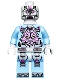 Minifig No: tnt006  Name: The Kraang - Medium Blue Exo-Suit Body with Jet Pack