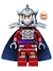 Minifig No: tnt020  Name: Shredder - Dark Blue Cape