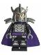 Minifig No: tnt035  Name: Shredder - Dark Purple Cape