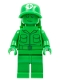 Minifig No: toy002  Name: Green Army Man - Medic with Backpack