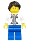Minifig No: twn193  Name: Artist, Female