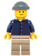 Minifig No: twn219  Name: Pool Player, NO Back Print