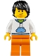 Minifig No: twn316  Name: Winter Vacationer, Male