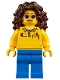 Minifig No: twn319  Name: Coaster Operator, Female