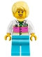 Minifig No: twn320  Name: Cotton Candy Vendor