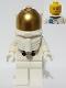 Minifig No: twn373  Name: NASA Apollo 11 Astronaut - Male with White Torso with NASA Logo and Lopsided Smile