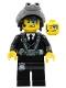 Minifig No: uagt015  Name: Agent Curtis Bolt with Goggles