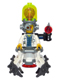 Minifig No: uagt034  Name: Professor Brainstein with Mech Suit